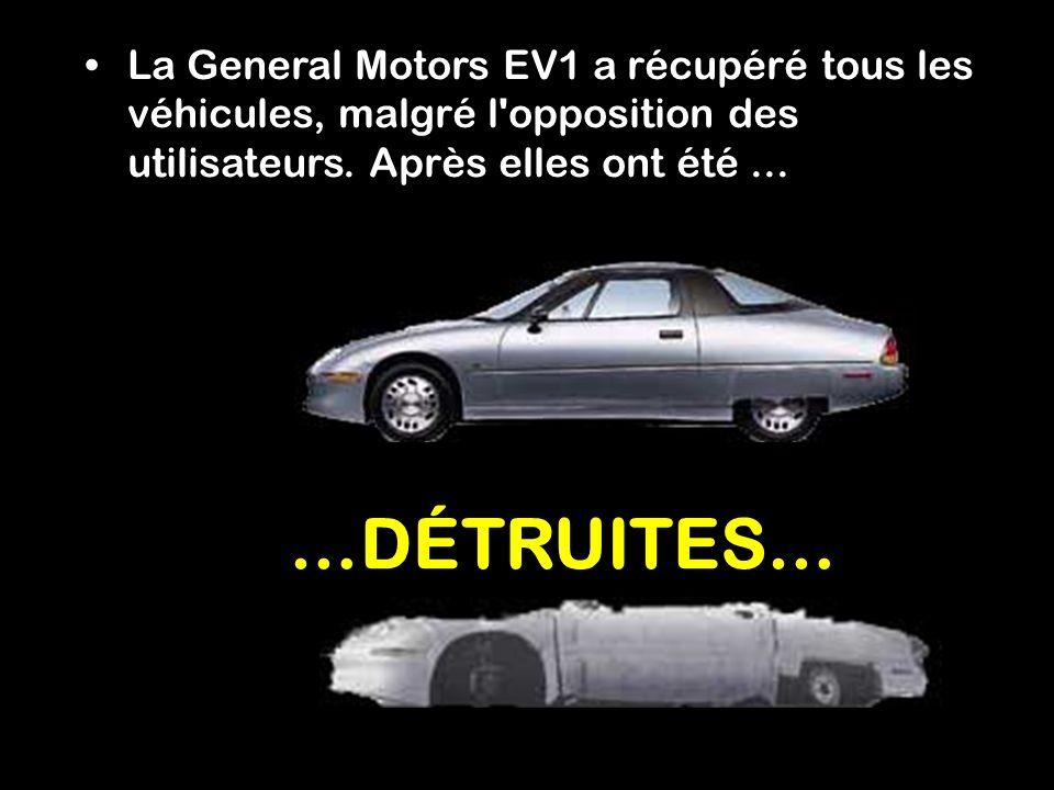 Comment est-ce possible ? Dix ans plus tard, cette voiture de l'avenir avait disparu. Tout d'abord, ce véhicule ne pouvait pas être acheté, seulement