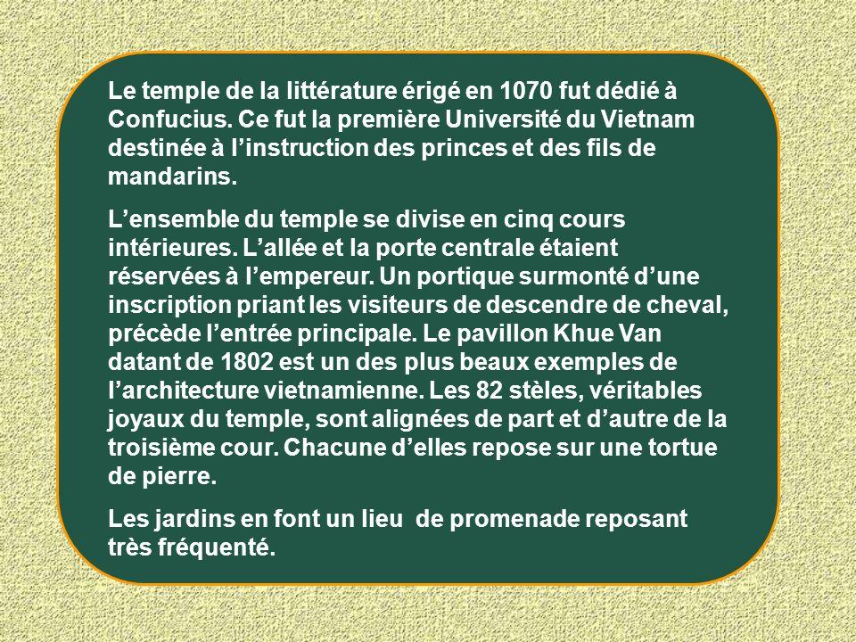 Entrée principale du Temple de la littérature (Van Mieu)