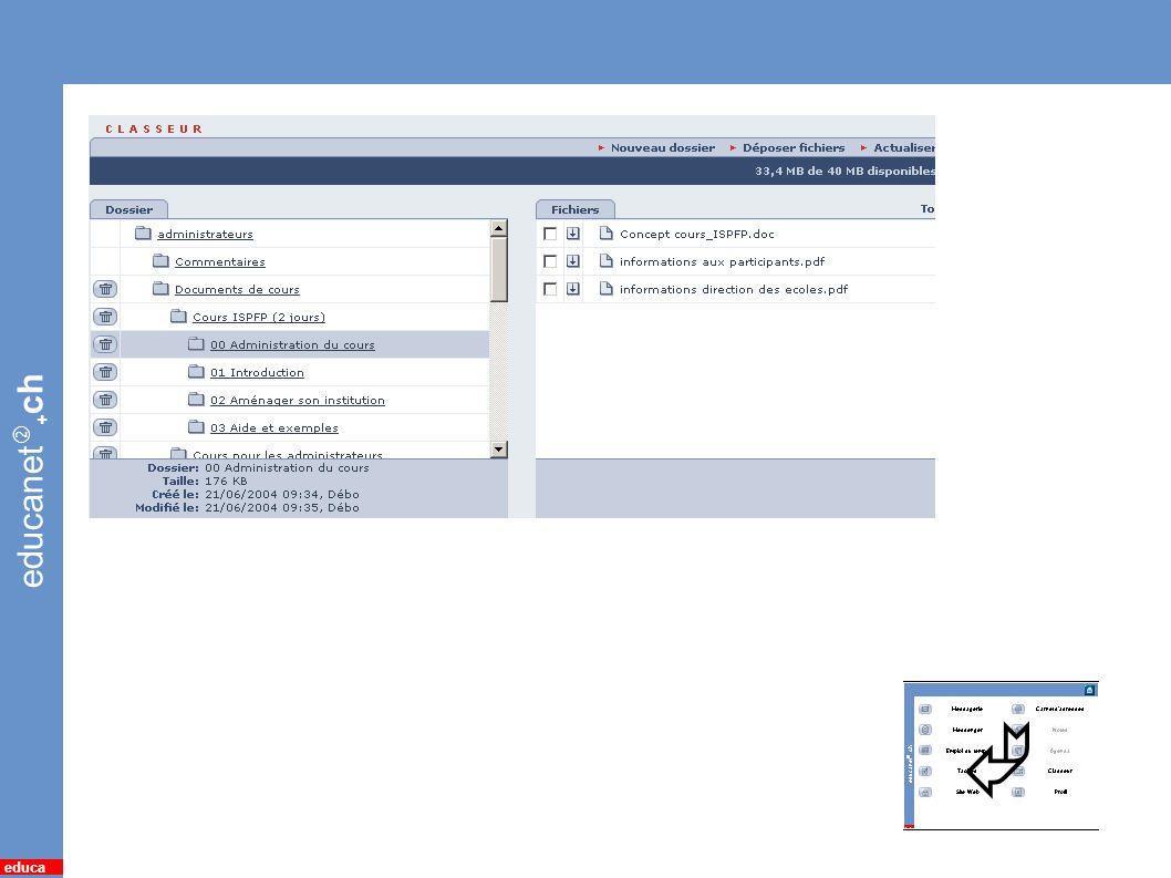 educanet + ch educa 13 *Classeur