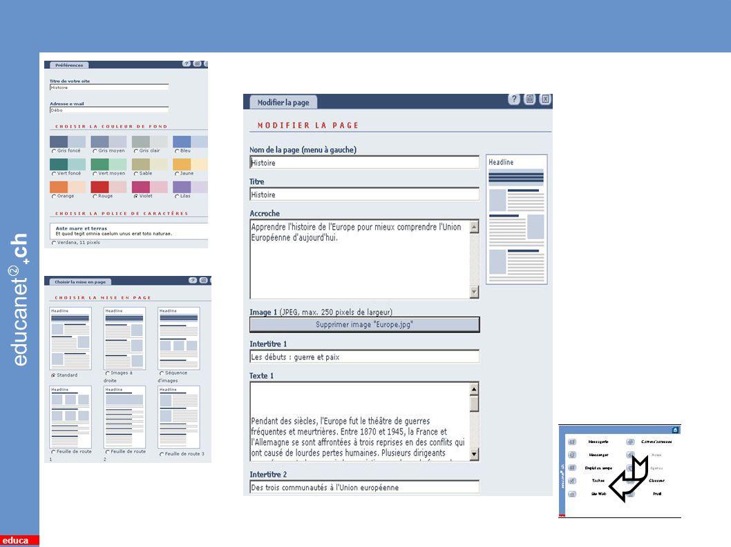 educanet + ch educa 14 *Site web