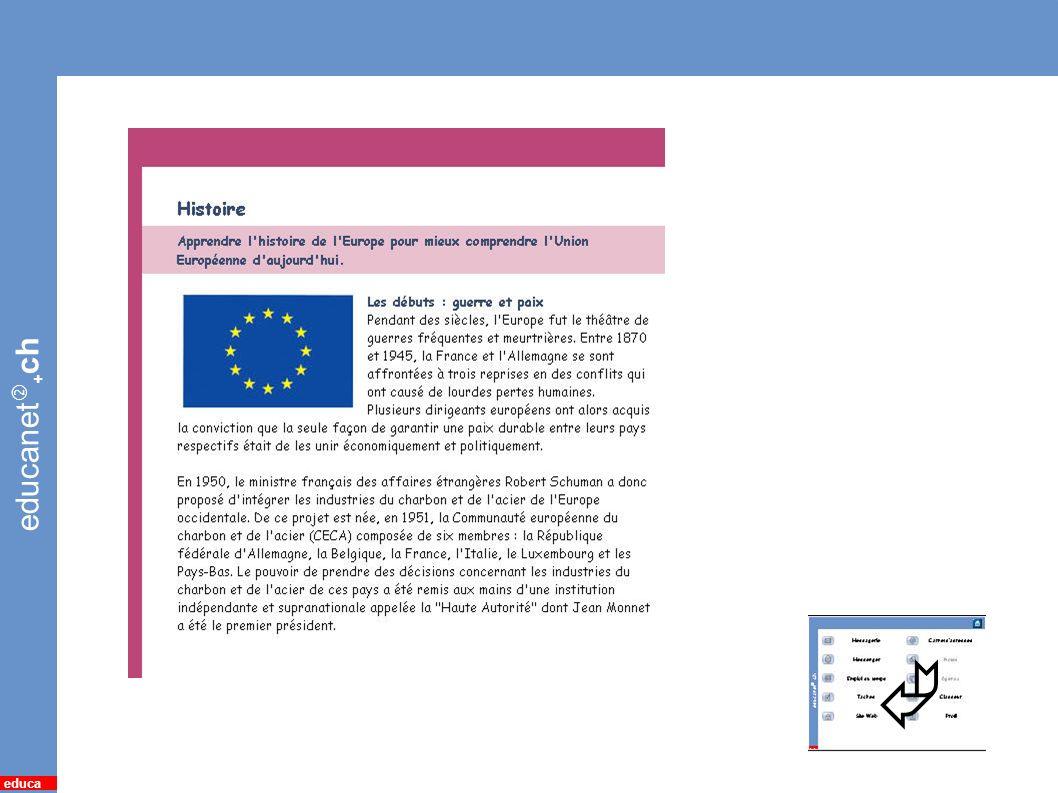 educanet + ch educa 15 *Page web