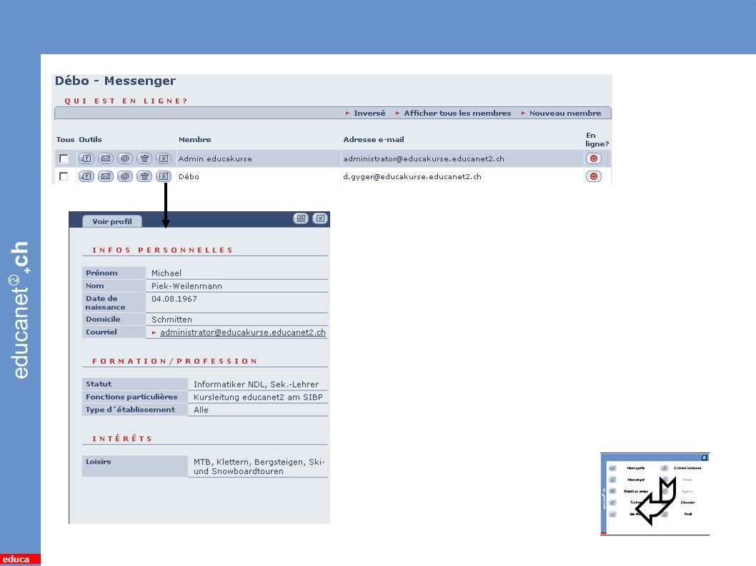 educanet + ch educa 16 *Profil