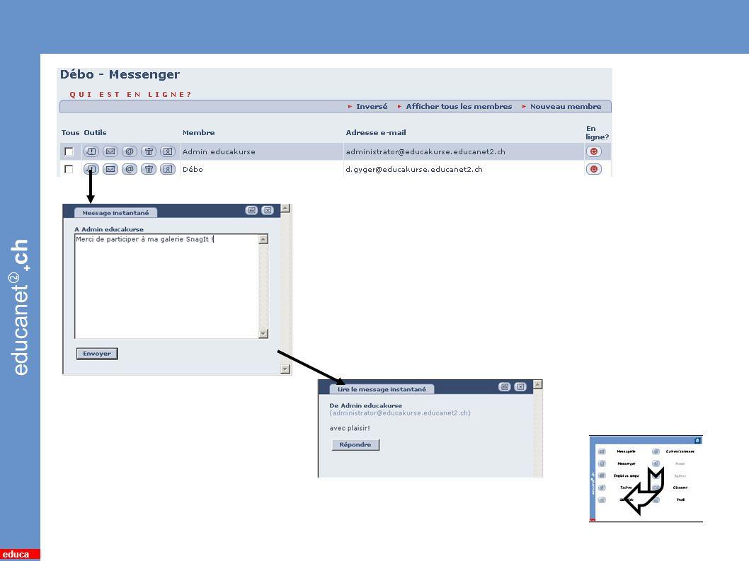 educanet + ch educa 7 *Quickmessage