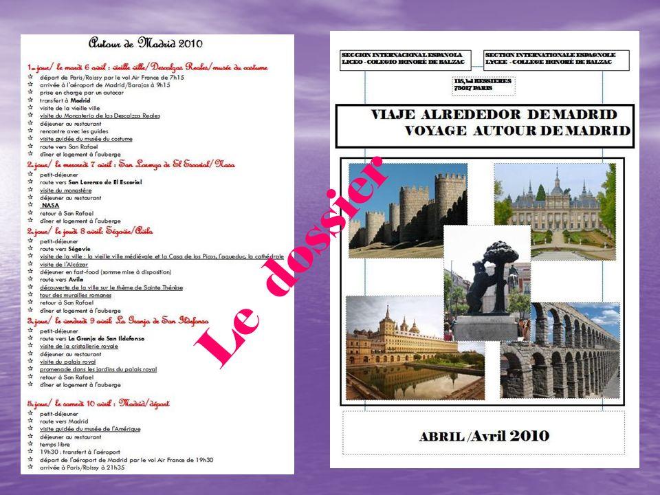 Premier jour Día 6 (martes) / (mardi) abril/ avril 18,00 h.