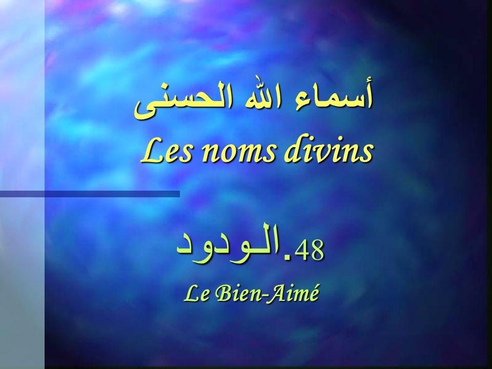 أسماء الله الحسنى Les noms divins 47. الحـكـيـم LInfiniment Sage