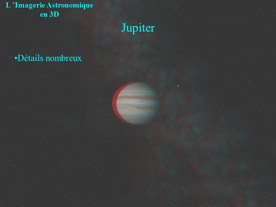 Jupiter L Imagerie Astronomique en 3D Détails nombreux