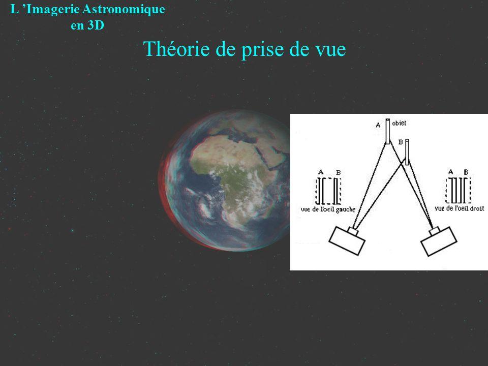 Théorie de prise de vue L Imagerie Astronomique en 3D