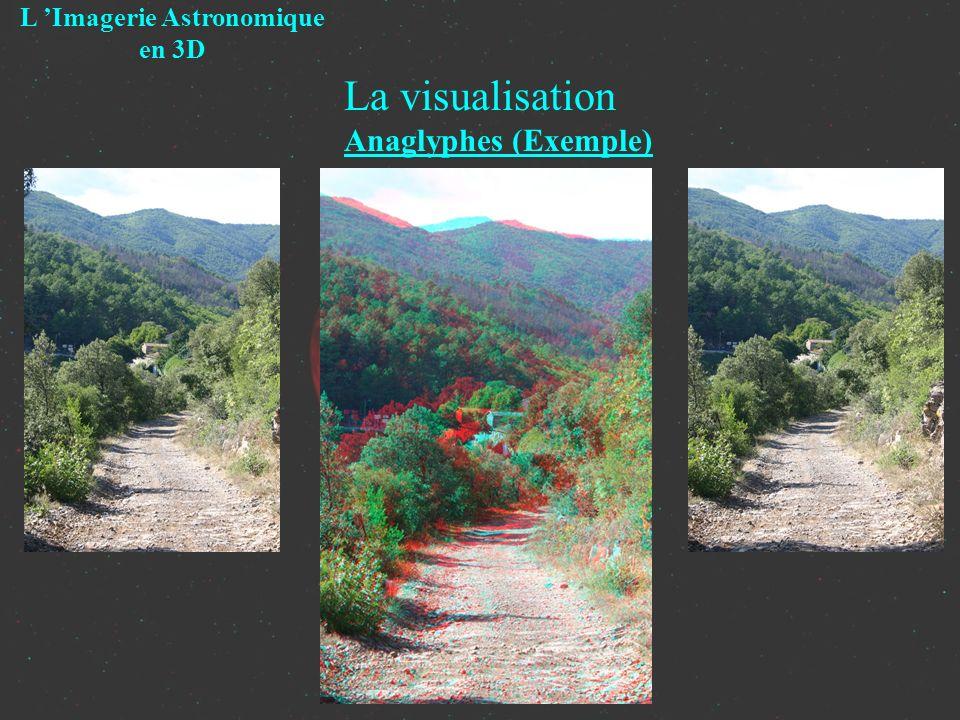 La visualisation Anaglyphes (Exemple) L Imagerie Astronomique en 3D