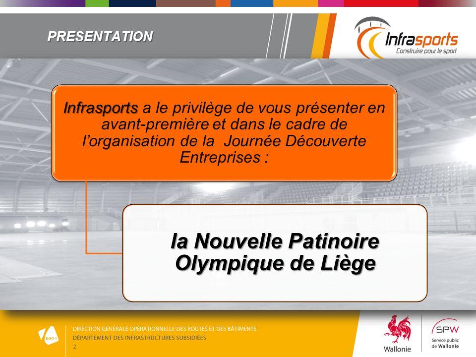 2 PRESENTATION Infrasports Infrasports a le privilège de vous présenter en avant-première et dans le cadre de lorganisation de la Journée Découverte E