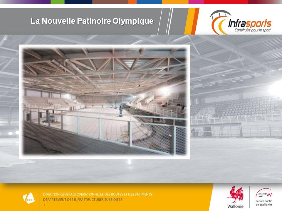 5 Une nouvelle implantation Un choix stratégique… Cette nouvelle infrastructure remplacera définitivement la patinoire de Coronmeuse.