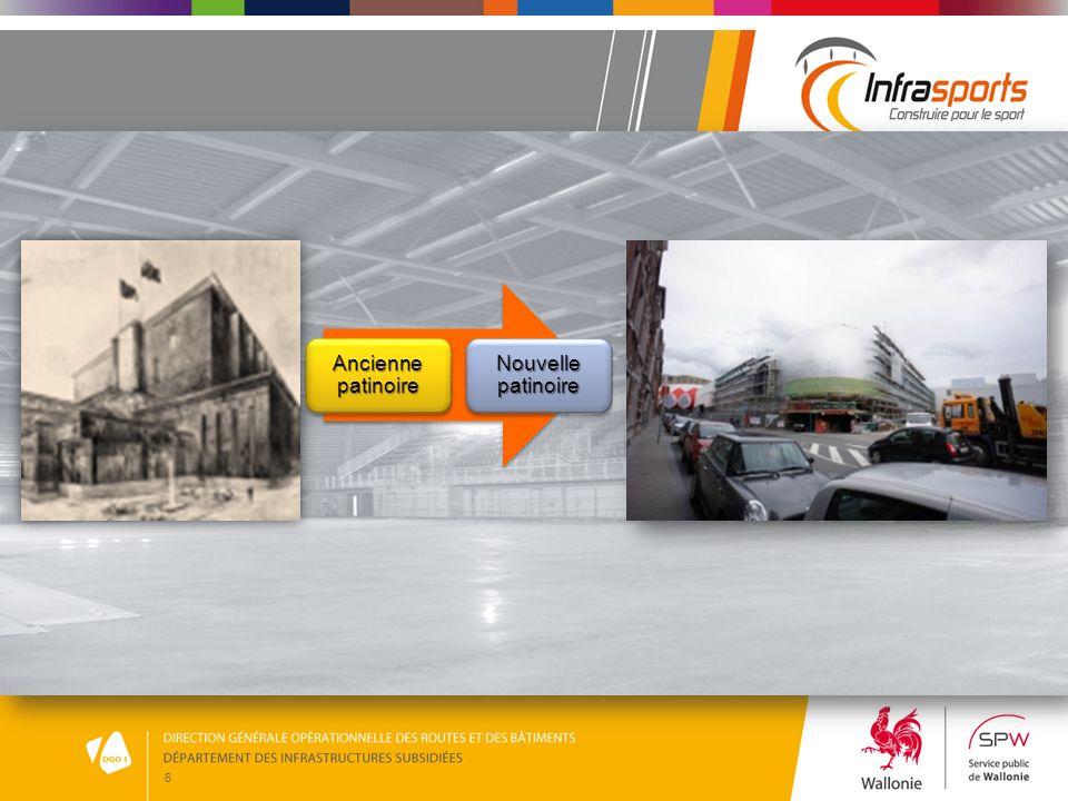 7 Un chantier en cours de finalisation 15 novembre 2010 Le Chantier de la patinoire a débuté le 15 novembre 2010 et est, comme vous pouvez le constater, en cours de finalisation.