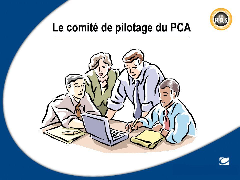 Le comité de pilotage du PCA
