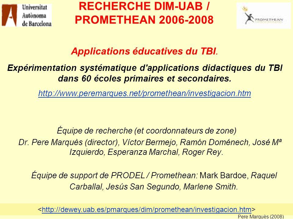 Identifier le potentiel des TBI pour l amélioration des processus d enseignement et d apprentissage.