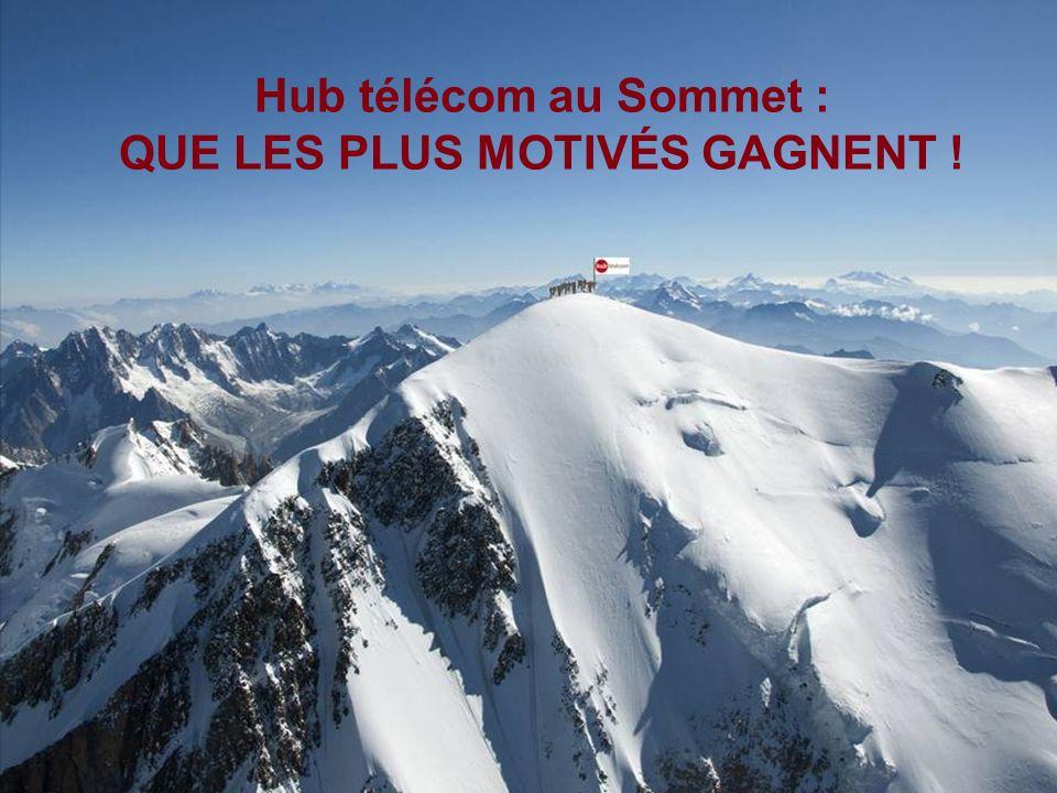 123 Hub télécom au Sommet : QUE LES PLUS MOTIVÉS GAGNENT !