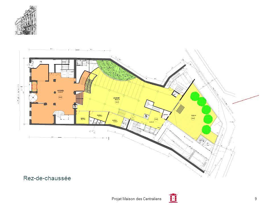 Projet Maison des Centraliens9 Rez-de-chaussée