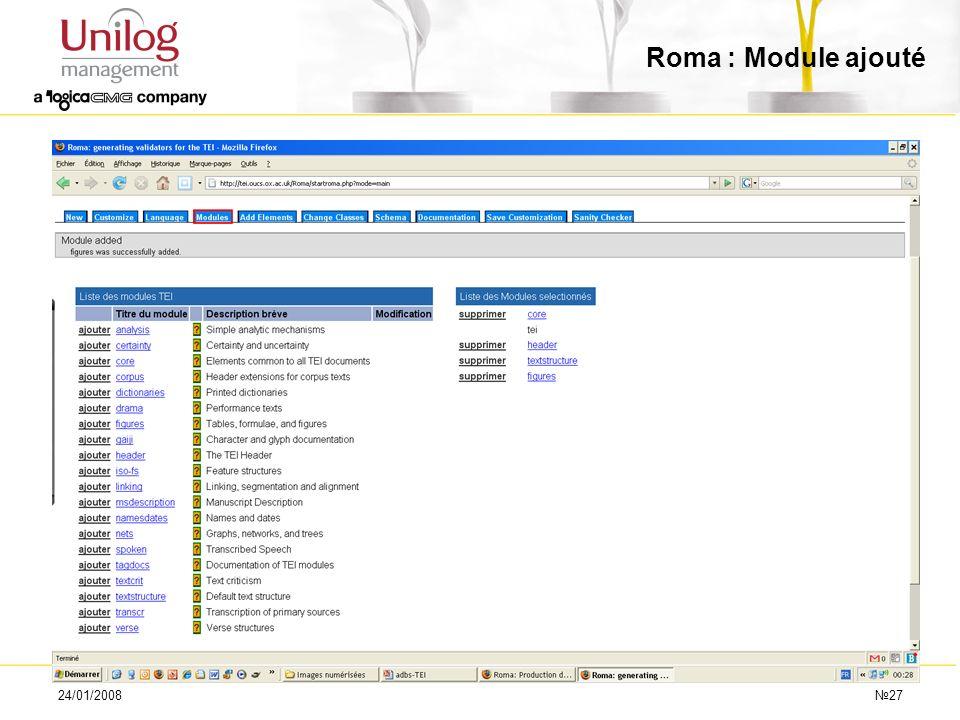 24/01/200827 Roma : Module ajouté