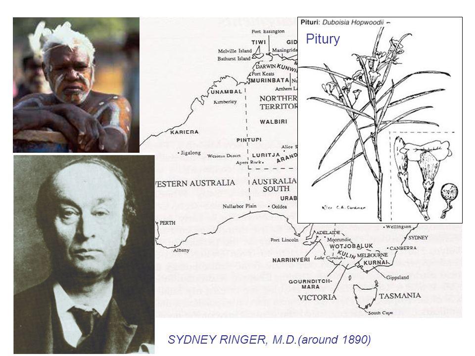 SYDNEY RINGER, M.D.(around 1890) Pitury