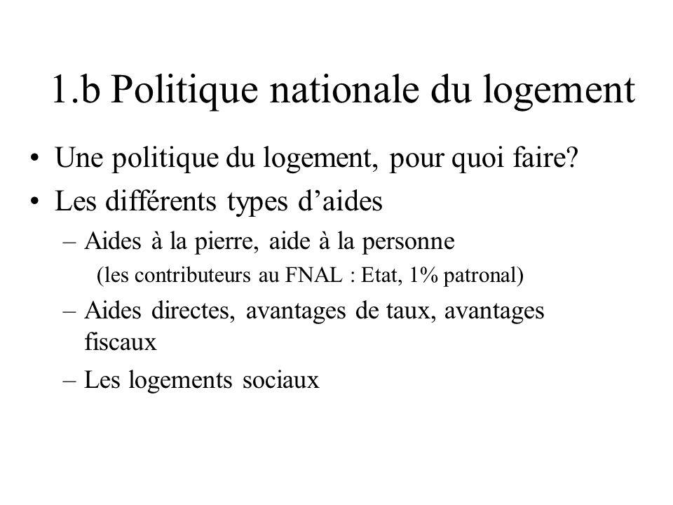 2.a Questions à ces politiques Faut-il de la mixité.