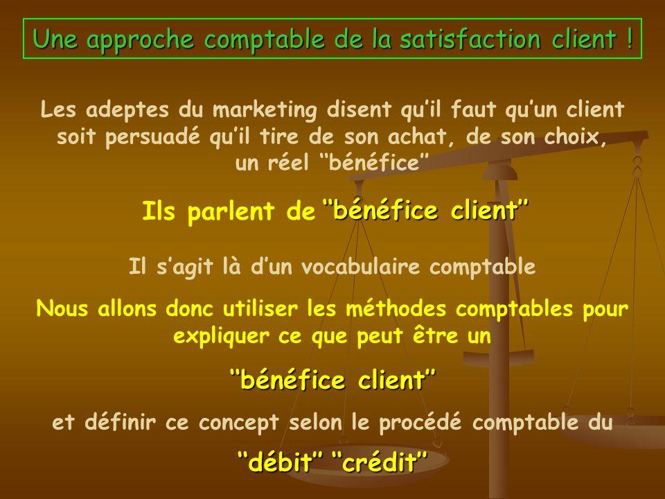 Le concept du Bénéfice Client Ou pourquoi la satisfaction du client est nécessaire mais pas suffisante ! PRESENCE/ Jean Pierre NUGUES – Février 2009