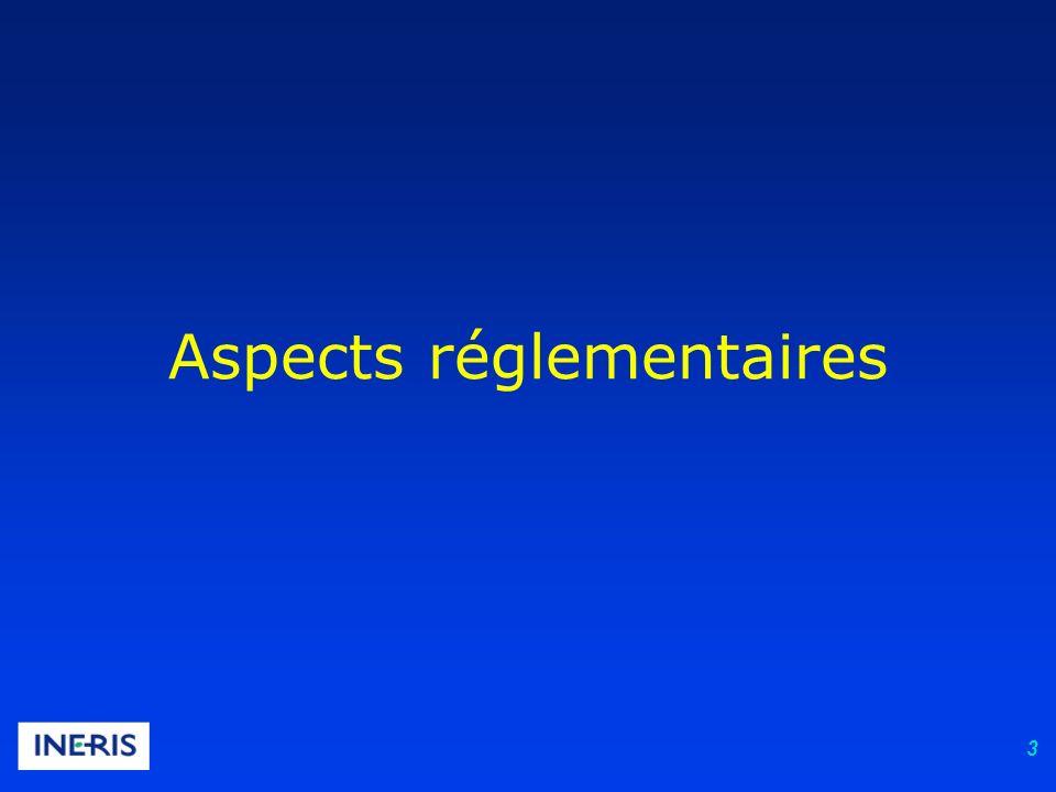 3 Aspects réglementaires