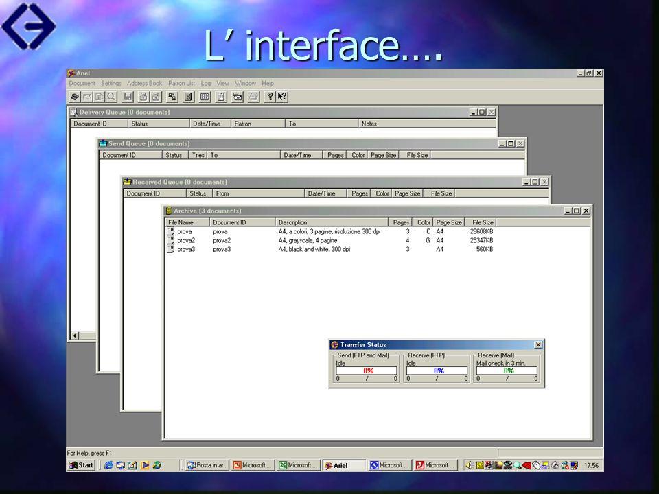 L interface….