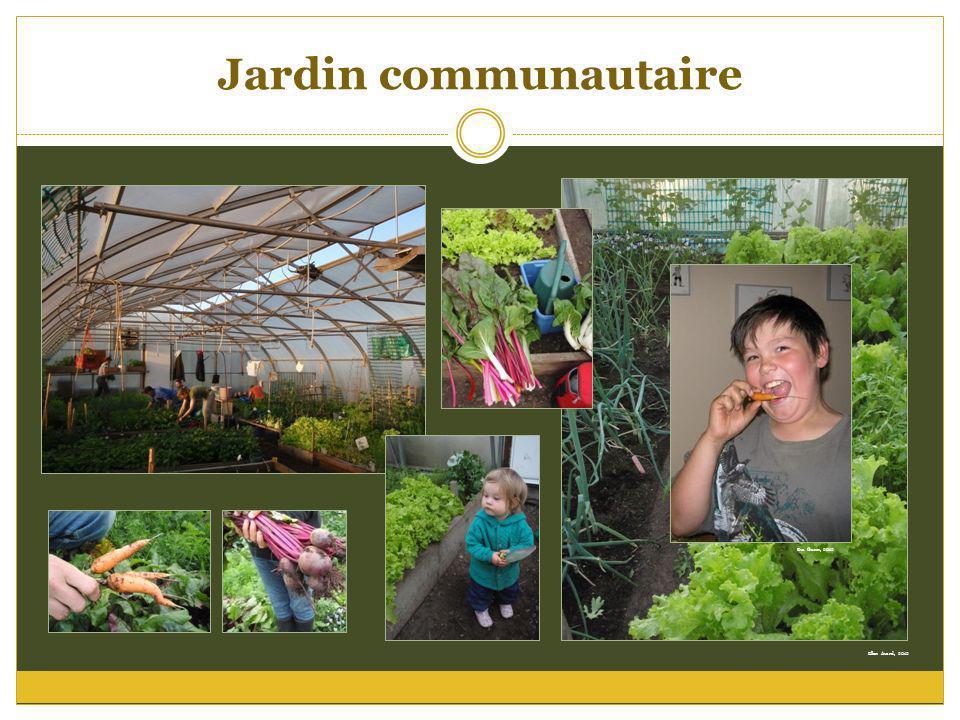 Jardin communautaire Eva Gunn, 2012