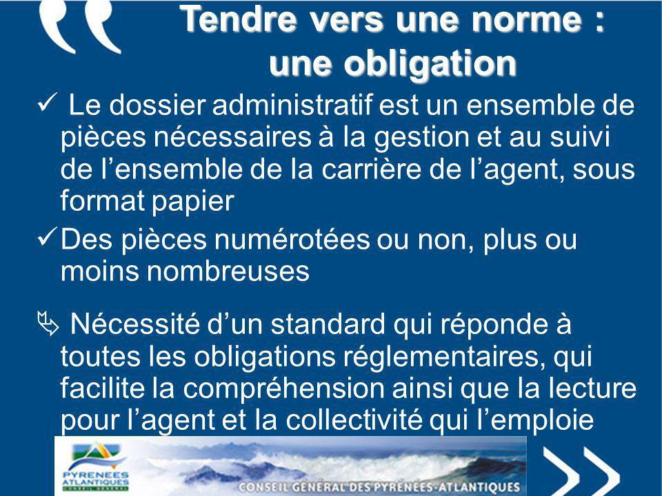Origine de la norme Les précurseurs « isolés » : lANDRHD première présentation du projet en septembre 2006 à Chambéry Etude importante dopportunité par la Caisse des Dépôts et Consignations