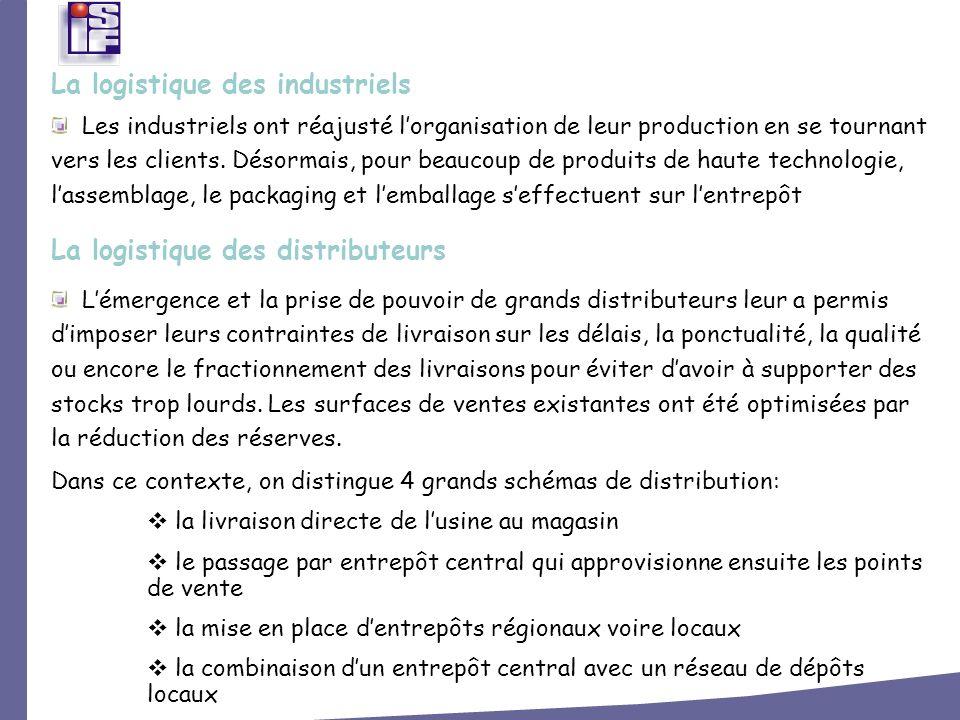Les industriels ont réajusté lorganisation de leur production en se tournant vers les clients. Désormais, pour beaucoup de produits de haute technolog
