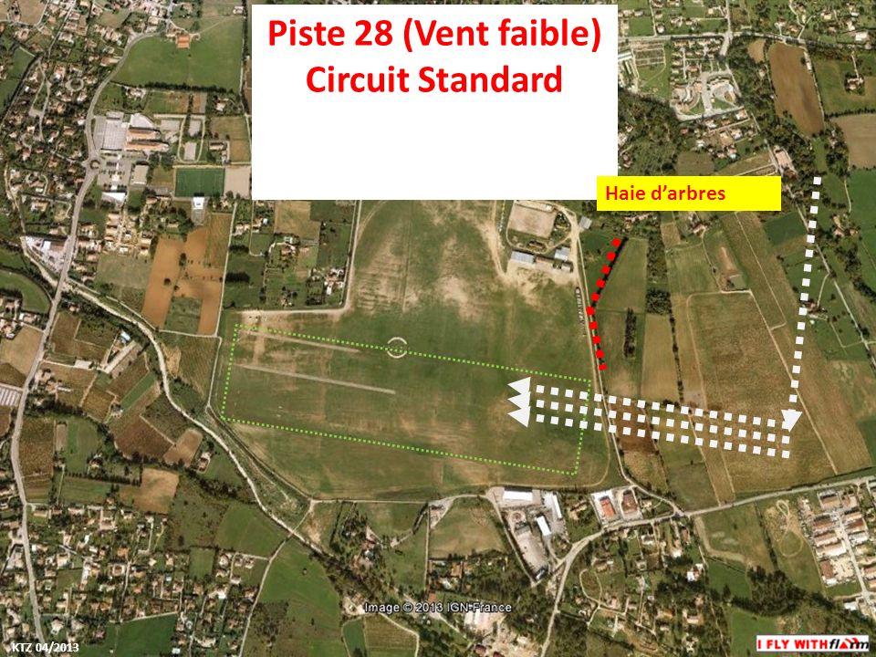 Piste 28 (Vent faible) Circuit Standard Haie darbres KTZ 04/2013