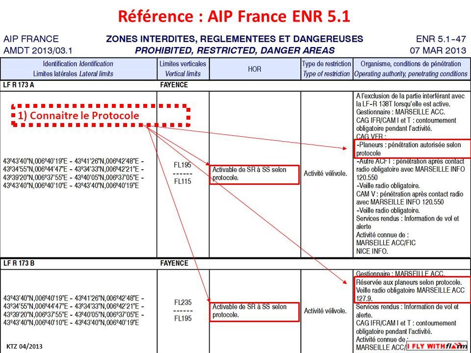Modifiez les styles du texte du masque Deuxième niveau Troisième niveau Quatrième niveau Cinquième niveau Référence : AIP France ENR 5.1 1) Connaitre