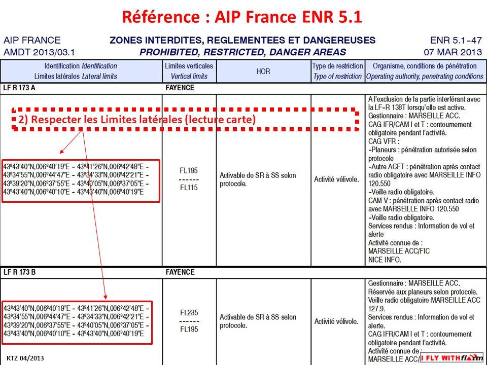 Modifiez les styles du texte du masque Deuxième niveau Troisième niveau Quatrième niveau Cinquième niveau Référence : AIP France ENR 5.1 2) Respecter