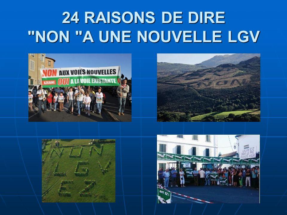 24 RAISONS DE DIRE
