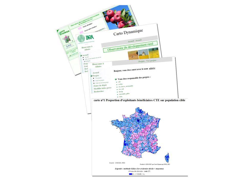 2 - LObservatoire du Développement Rural (ODR) L ODR s inscrit dans un courant de réorganisation des systèmes d information statistique avec la généralisation d Internet.