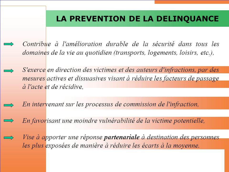 Contribue à l'amélioration durable de la sécurité dans tous les domaines de la vie au quotidien (transports, logements, loisirs, etc.), S'exerce en di