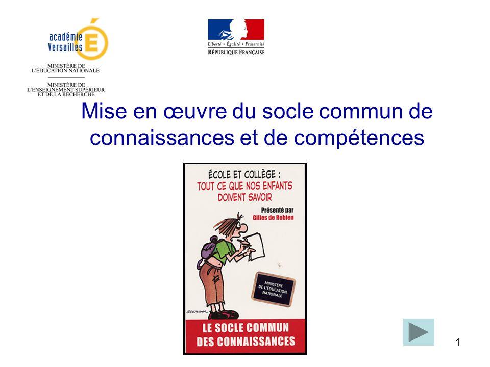 162 Français La maîtrise de la langue française Illustration dune attitude : La volonté de justesse dans lexpression écrite et orale.