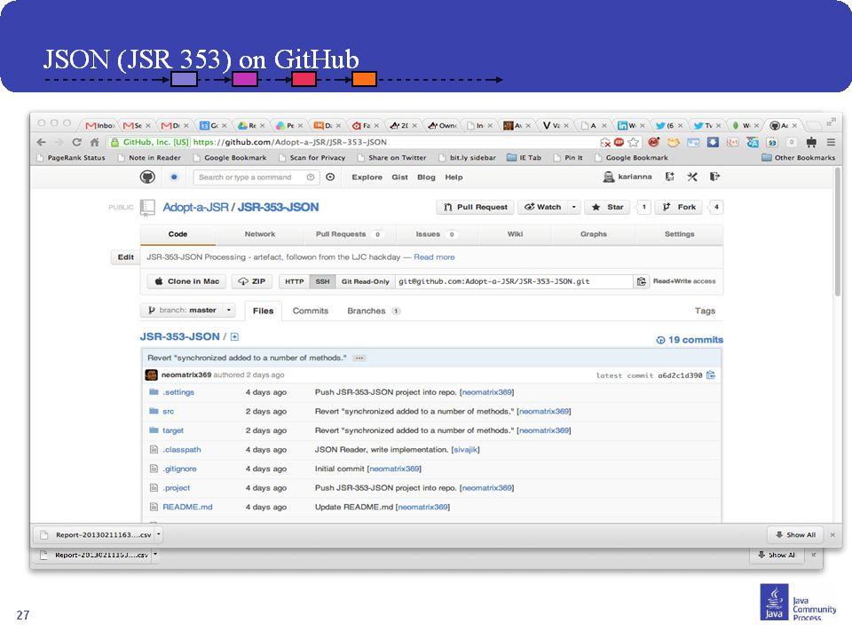 28 Comment Joindre? Contacter votre JUG leader Visiter http://java.net/projects/adoptajsr et suivre les étapes décrites suivantes :http://java.net/pro