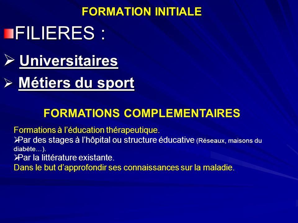 LES MISSIONS DE LE.M.S.SENSIBILISER SUR LES BIENFAITS DE L ACTIVITE PHYSIQUE.