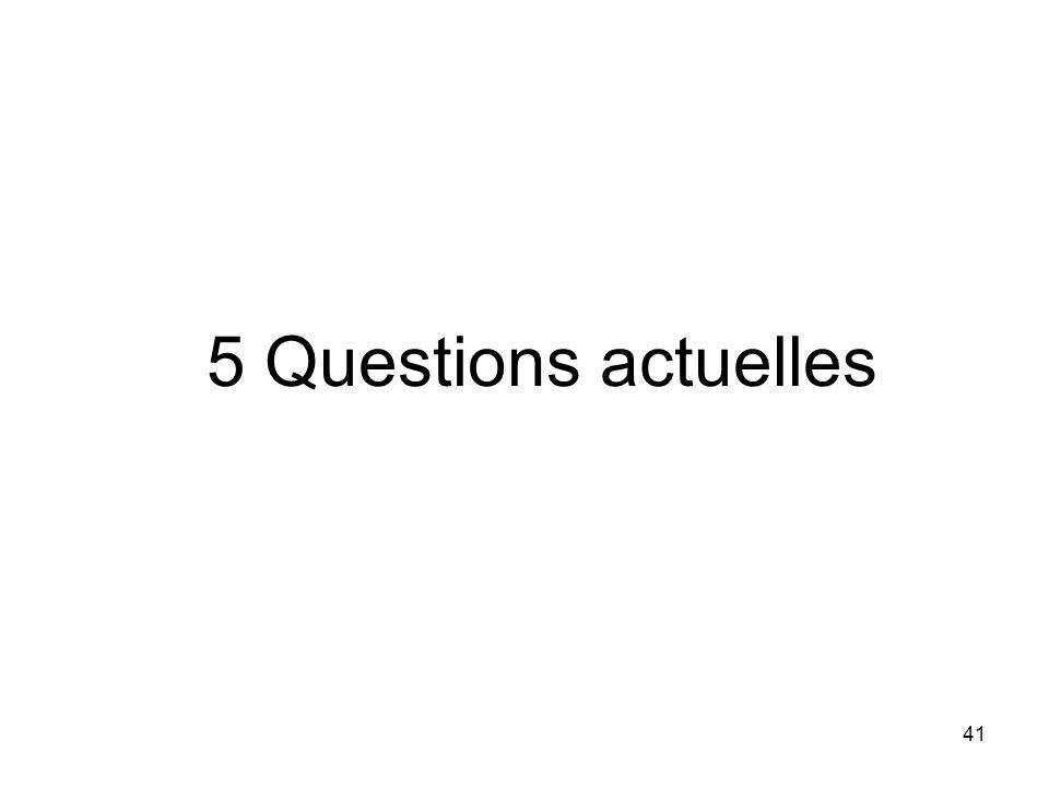 41 5 Questions actuelles