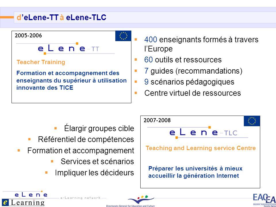6/12 2007-2008 Teaching and Learning service Centre Préparer les universités à mieux accueillir la génération Internet 2005-2006 Teacher Training Form