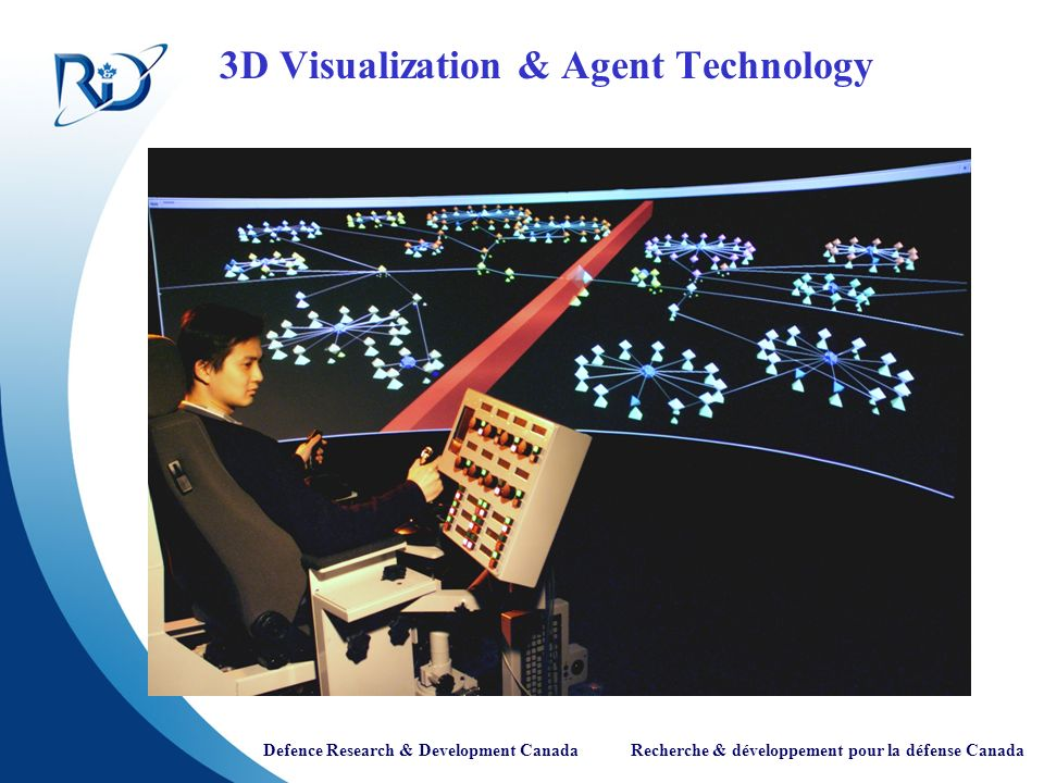 Defence Research & Development Canada Recherche & développement pour la défense Canada 3D Visualization & Agent Technology