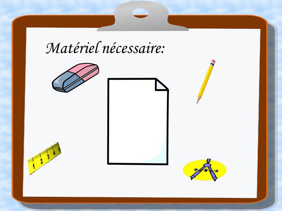 Construire un cercle de 5 cm de rayon Appuyer sur « ENTREE » pour changer de diapositive.