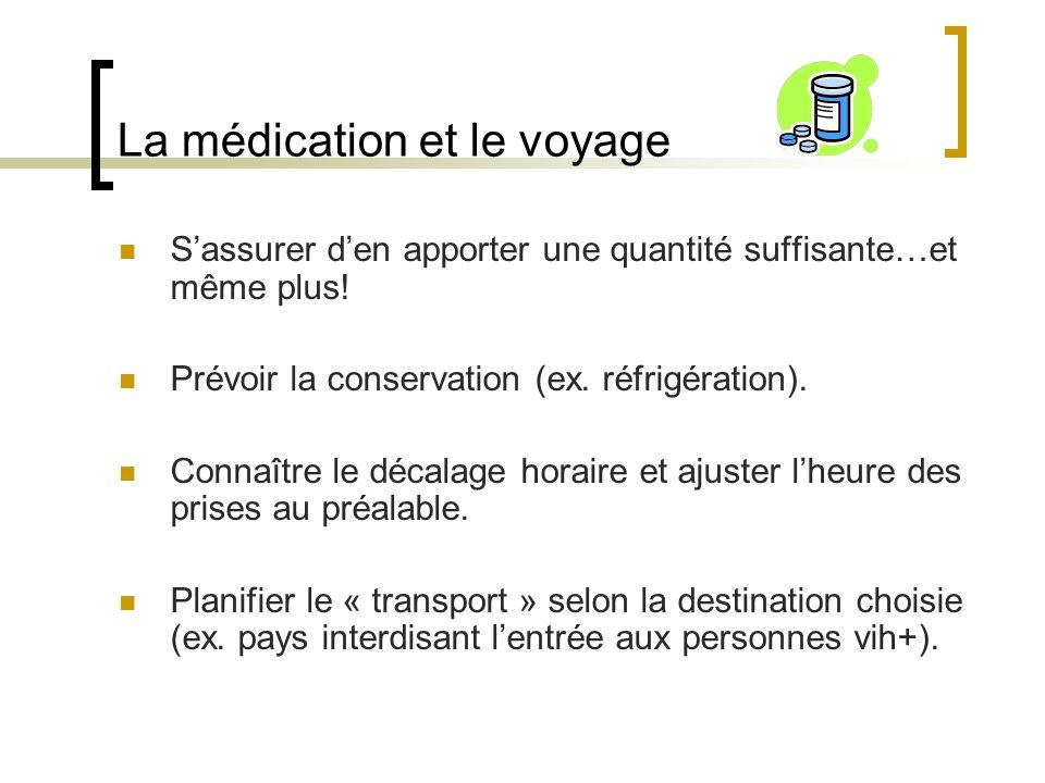 Conseils généraux (suite) Sassurer que lassurance voyage couvre les frais de rapatriement en « cas durgence ».