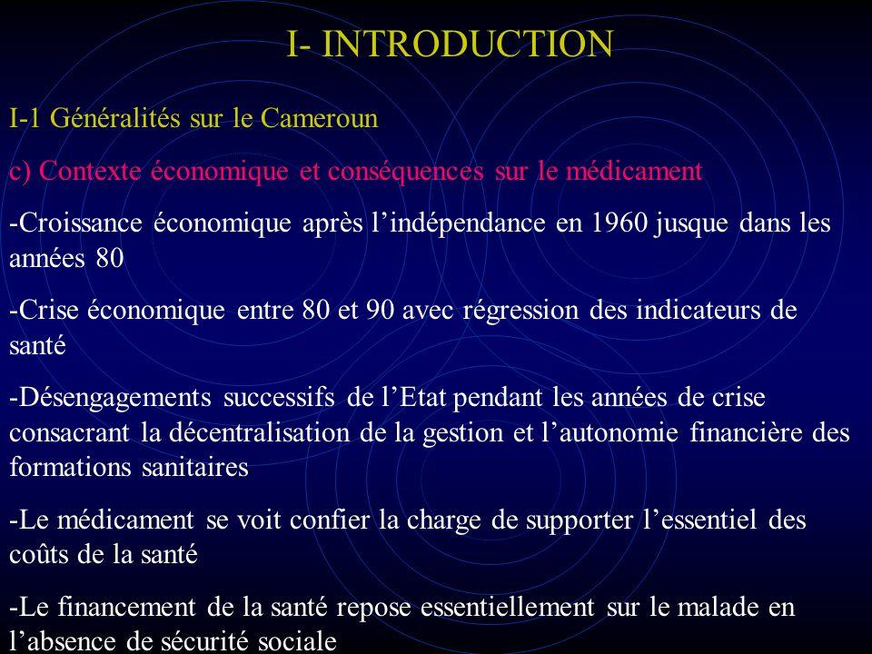 I- INTRODUCTION I- 2 Présentaion de létude Génèse Période Responsable