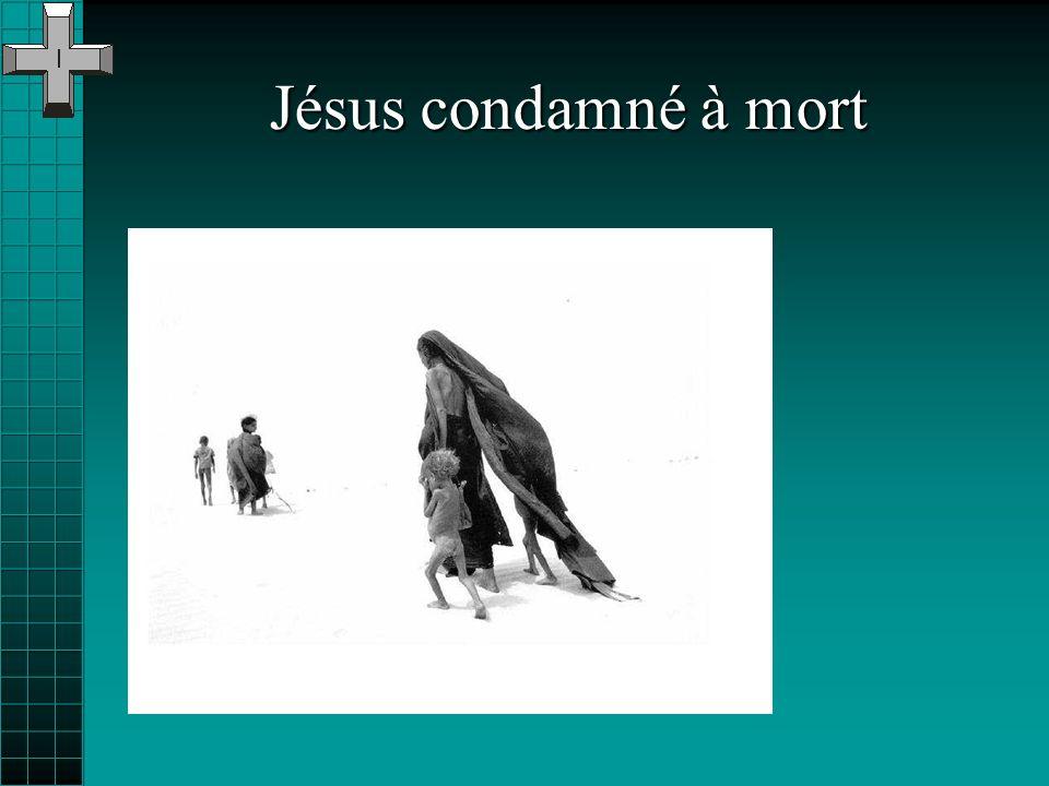 Le chemin de croix de Jésus nest pas une histoire du passé: il fait allusion à la passion de lHomme, la passion des pauvres, à tous les chemins des no