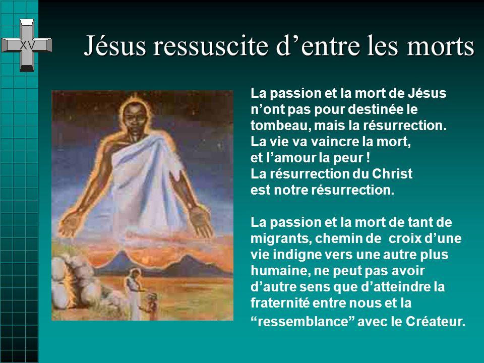 Jésus ressuscite dentre les morts Jésus ressuscite dentre les morts