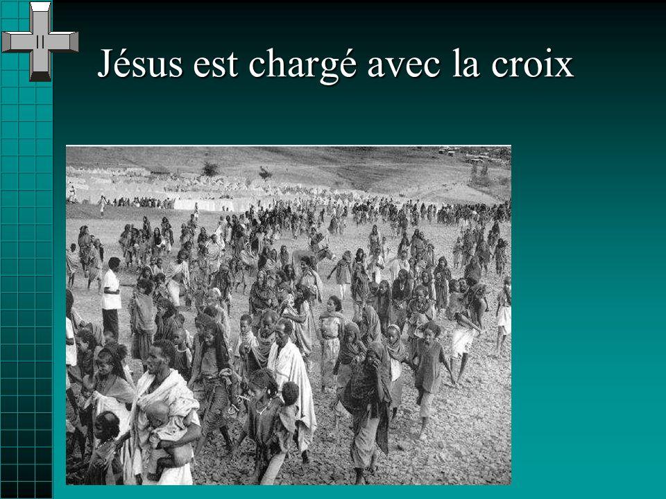 Jésus tombe pour la deuxième fois
