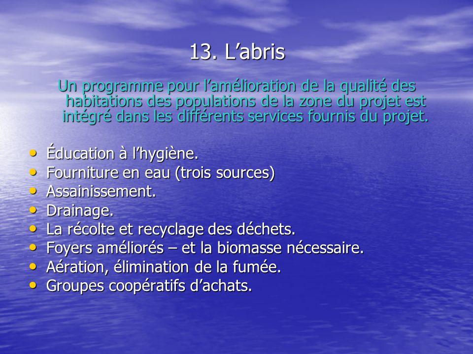 14.Leau potable Le manque deau et la qualité de leau.