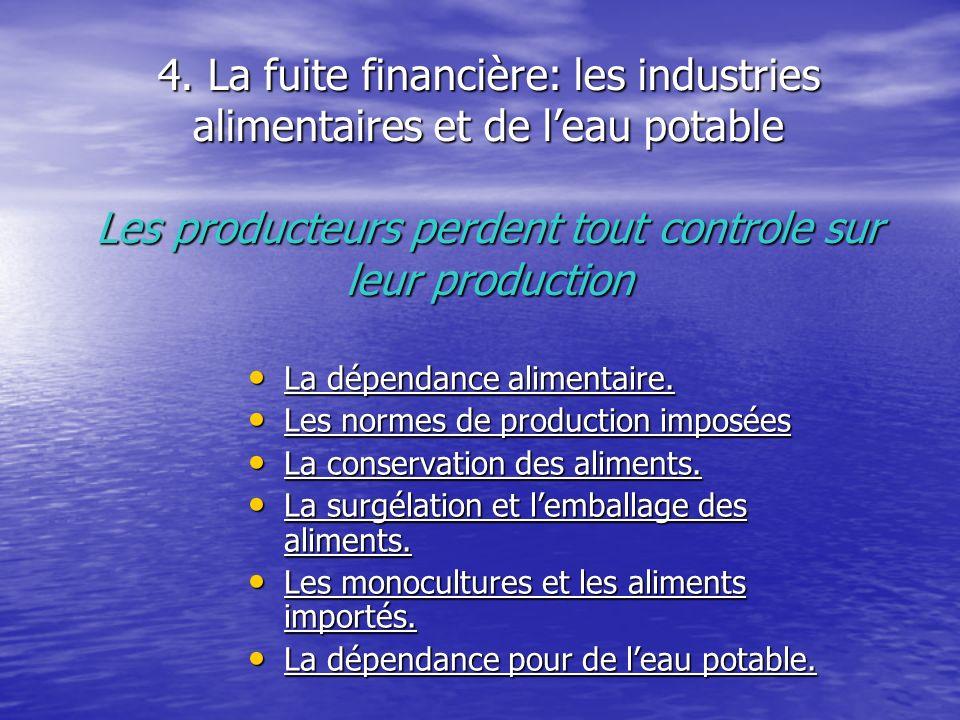 5.La fuite financière : lénergie La production locale dénergie à utilisation locale.
