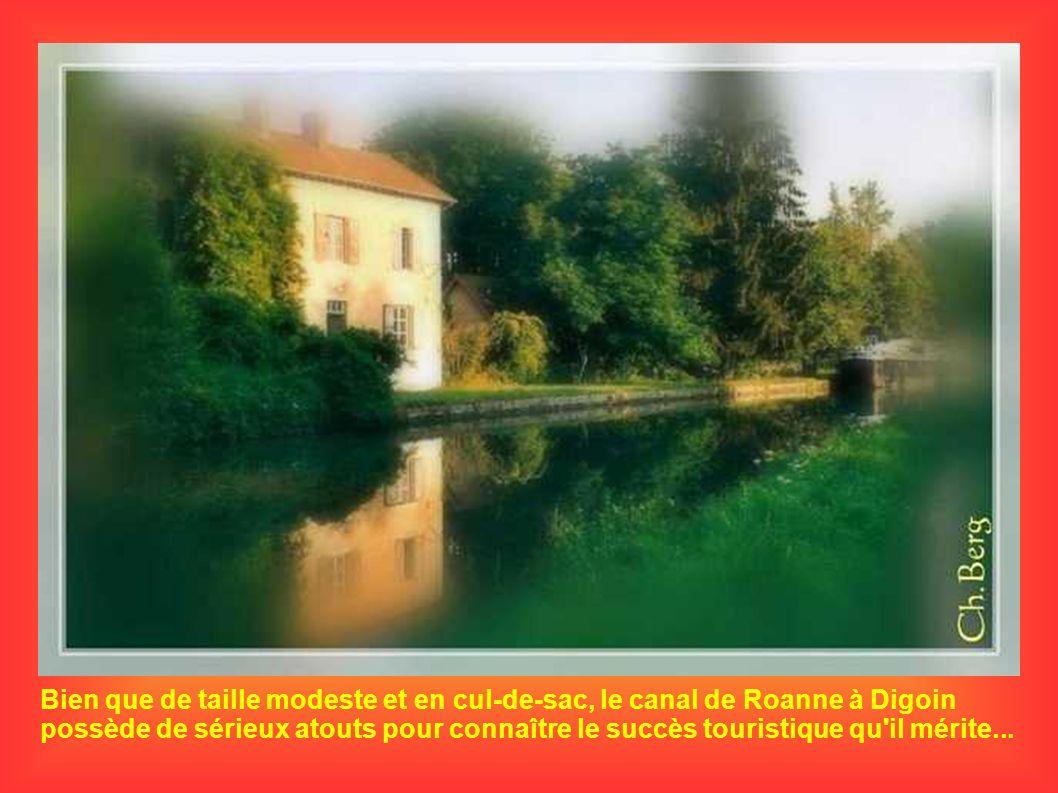 Bien que de taille modeste et en cul-de-sac, le canal de Roanne à Digoin possède de sérieux atouts pour connaître le succès touristique qu'il mérite..