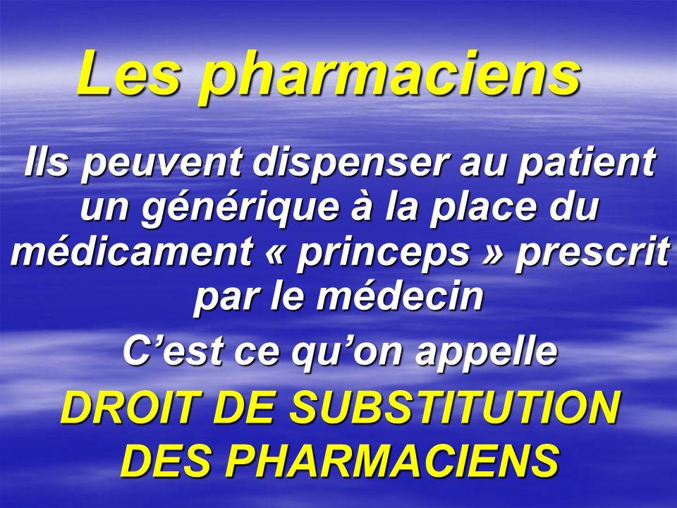 Un médicament moins cher mais tout aussi efficace génère une ECONOMIE non négligeable pour la Sécurité Sociale et pour le pays.